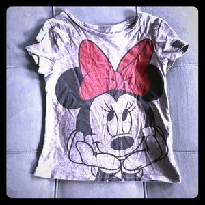 Old Navy Collectible Minnie Mouse tee, 4T